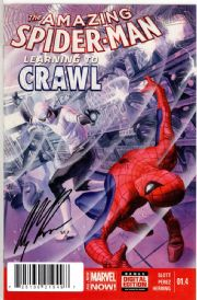 Amazing Spider-man #1.4 First Print Dynamic Forces Signed Alex Ross DF COA Marvel comic book